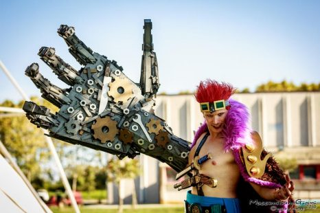 Cosplay Wednesday – One Piece's Eustass Kid