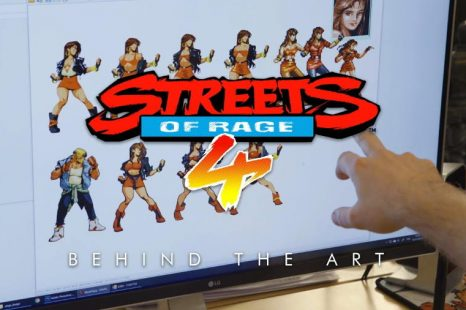 "Streets of Rage 4 Gets ""Behind the Art"" Documentary"