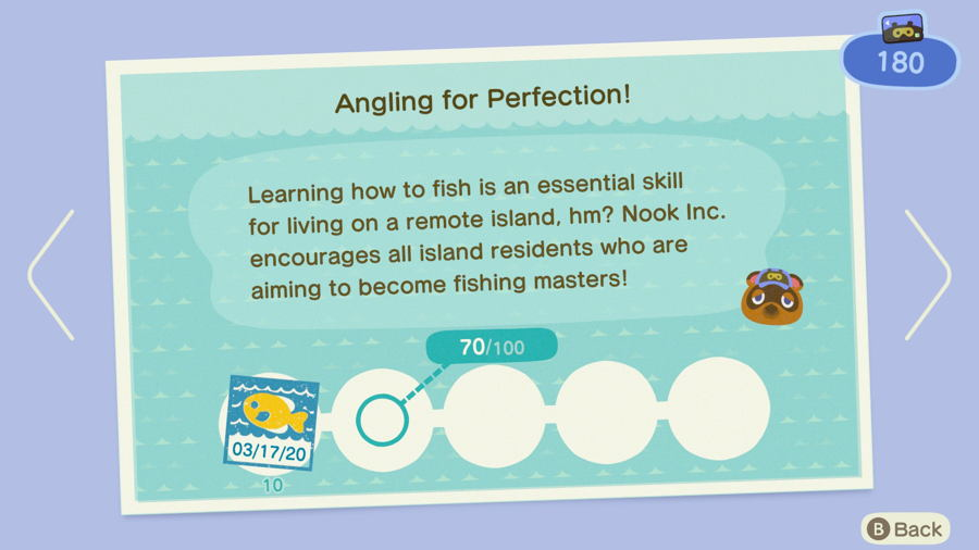 Angling for perfection Animal Crossing New Horizons