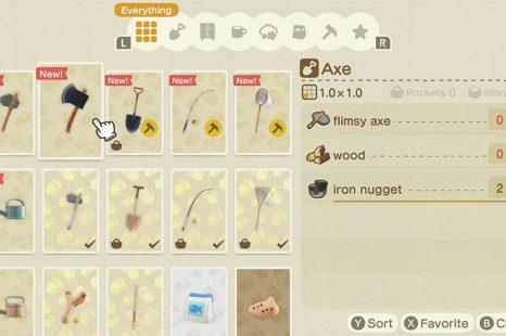 Animal Crossing New Horizon DIY Recipe Guide