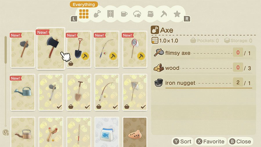 Animal Crossing New Horizon Diy Recipe Guide Gamersheroes
