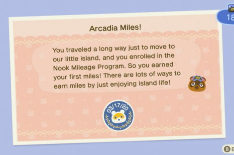 Animal Crossing New Horizons Nook Miles Unlock Guide