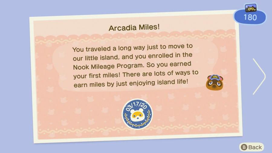 Animal Crossing New Horizons Nook Miles Unlock Guide