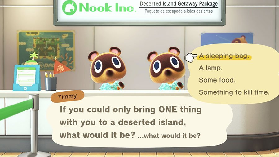 Animal Crossing New Horizons - What To Bring To Deserted Island Guide
