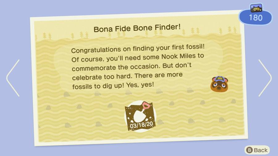 Bona fide bone finder AC new horizons