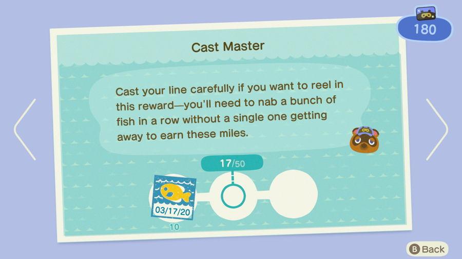 Cast master Animal Crossing New Horizons