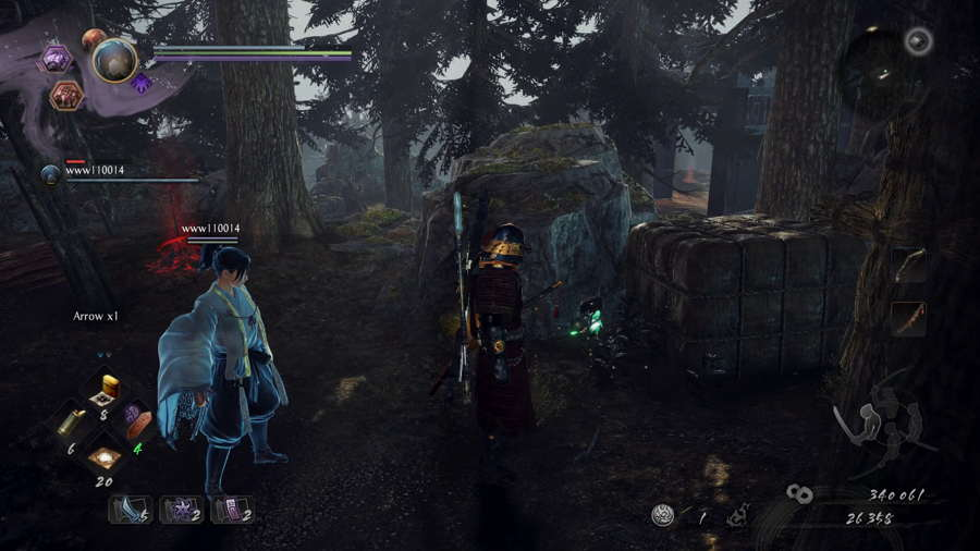 Corpses Kodama 2 Nioh 2