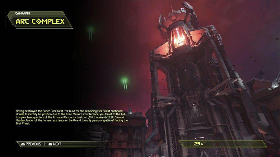 Doom Eternal Arc Complex Secret Locations Guide Gamersheroes
