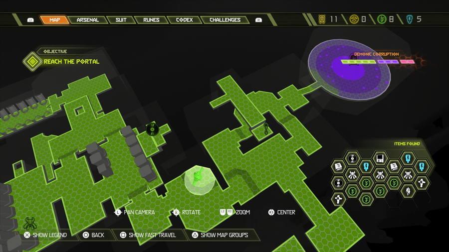 Doom Eternal Level 8 Mars Core Slayer Gate 2