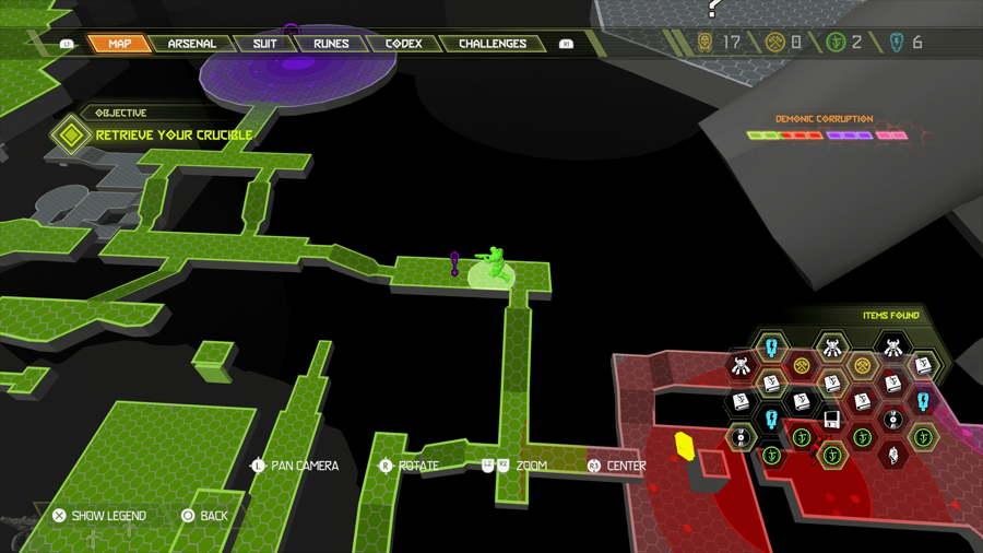 Doom Eternal Level 9 Tara Nabad Slayer Gate