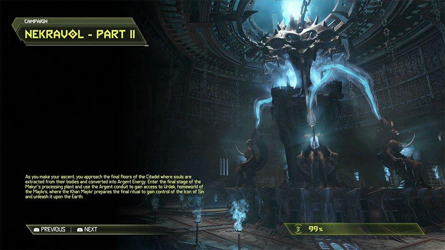Doom Eternal Nekravol Part II Secrets Location Guide