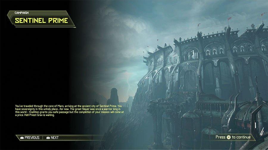 Doom Eternal Sentinel Prime Secret Locations Guide