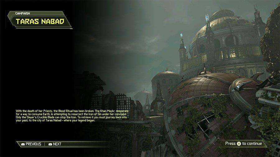 Doom Eternal Taras Nabad Secret Location Guide