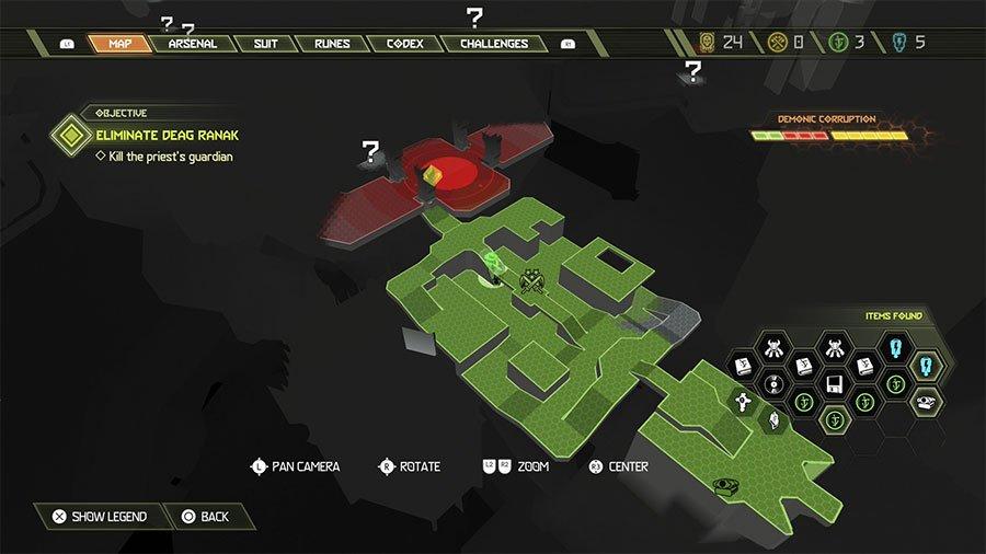 Doom Hunter Base Secret #1