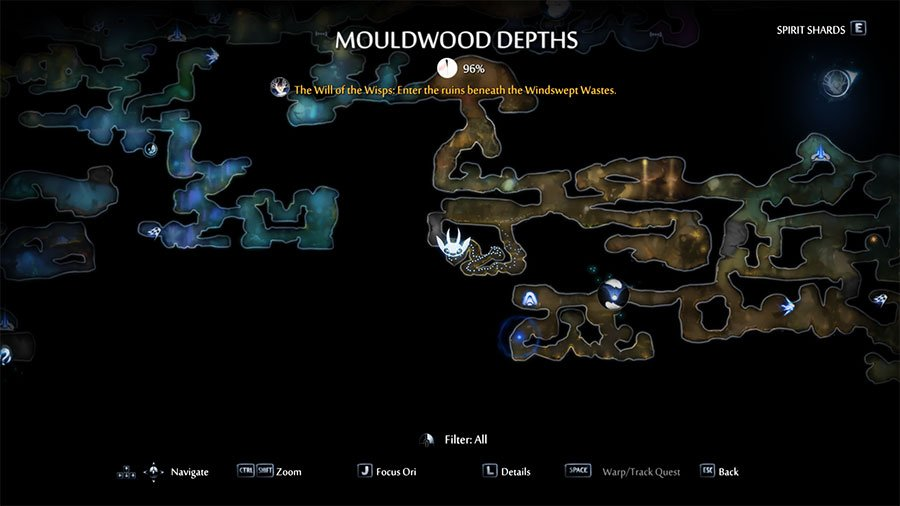 Energy Cell Fragment Location #2 Mouldwood Depths