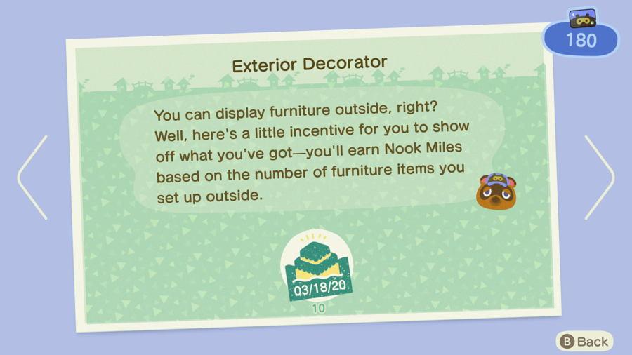 Exterior Decorator Animal Crossing New Horizons