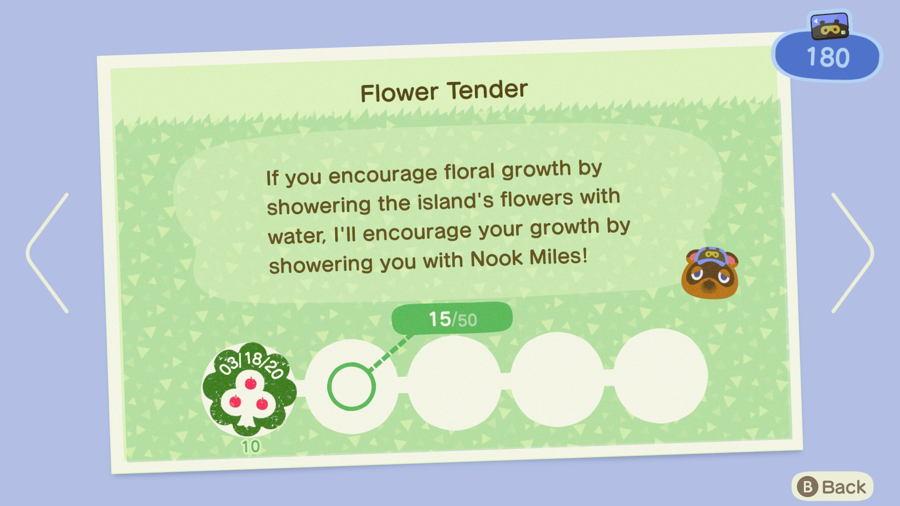 Flower tender Animal Crossing New Horizons