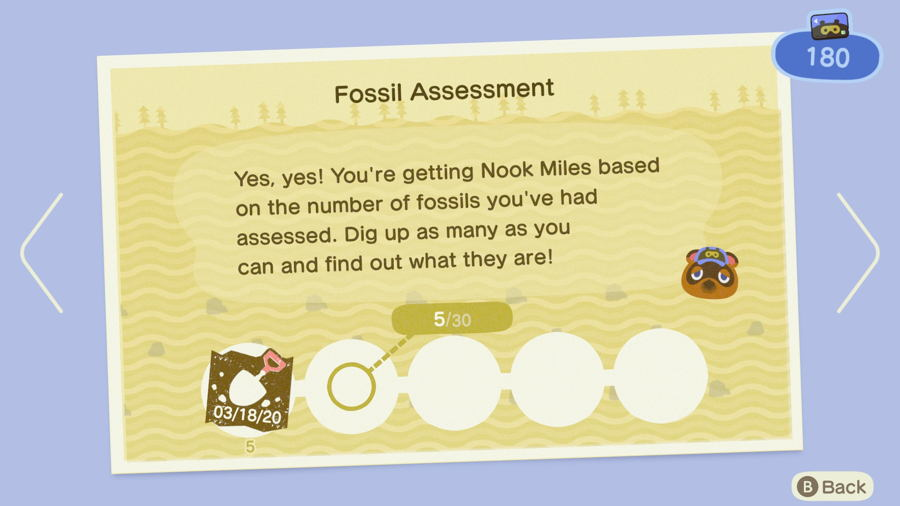 Fossil assessment ac new horizons