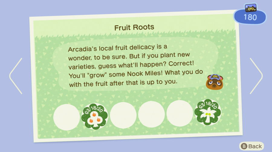Fruit Roots Animal Crossing New Horizons