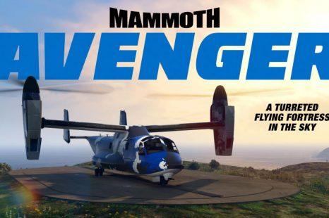 Mammoth Avenger 60% de réduction cette semaine dans GTA Online