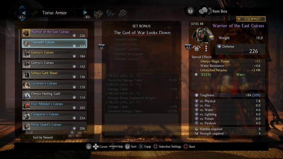 God Of War Set Nioh 2