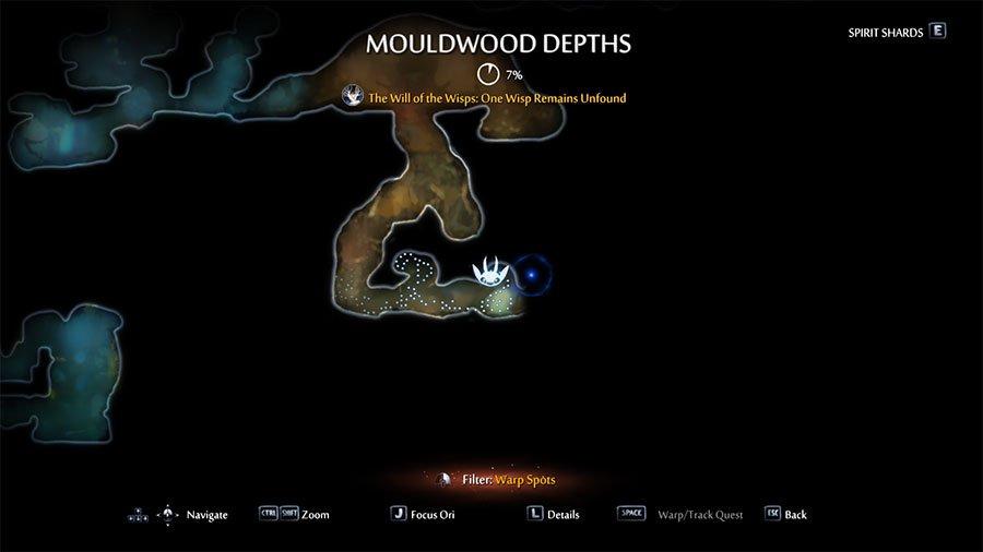 Gorlek Ore Location #1 Mouldwood Depths
