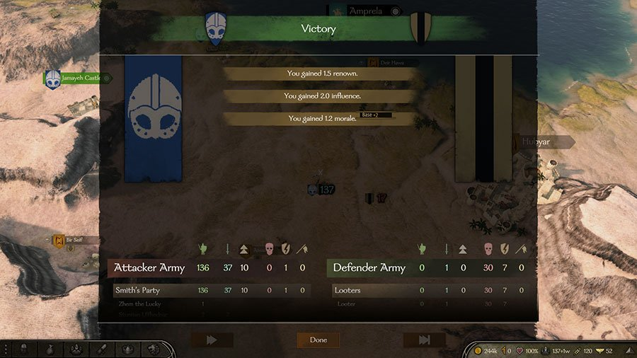 How To Get Influence In Mount & Blade II Bannerlord