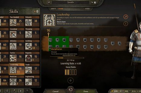 How To Learn Disciplinarian Perk In Mount & Blade II Bannerlord