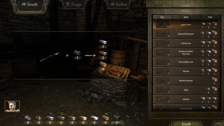 How To Smelt Items In Mount & Blade II Bannerlord
