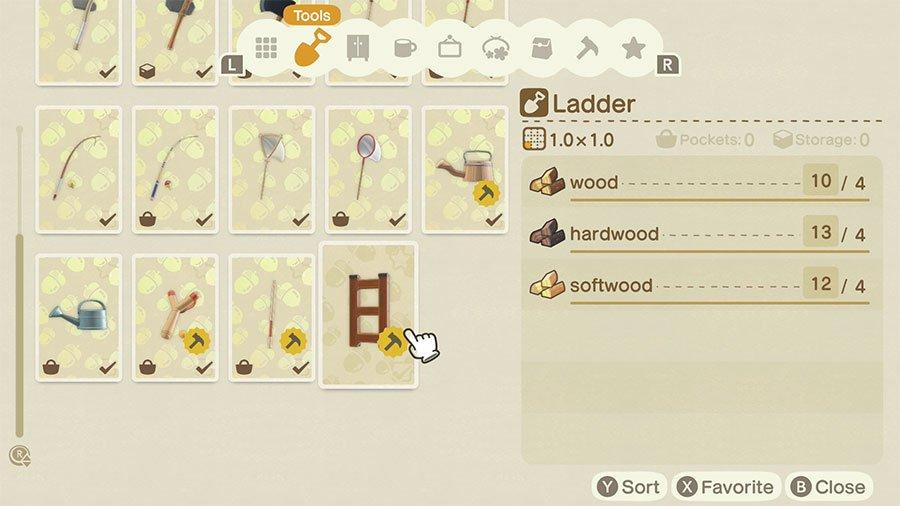 How To Unlock A Ladder In Animal Crossing New Horizons