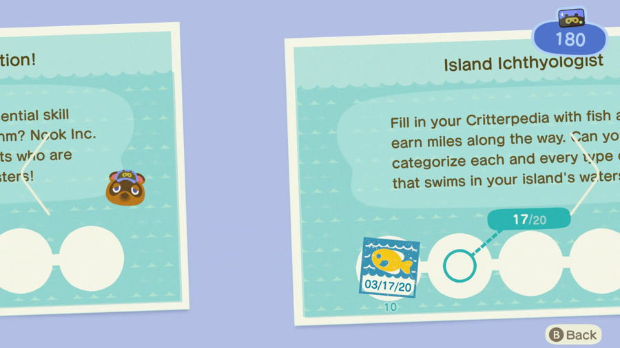 Island ichthyologist Animal Crossing New Horizons