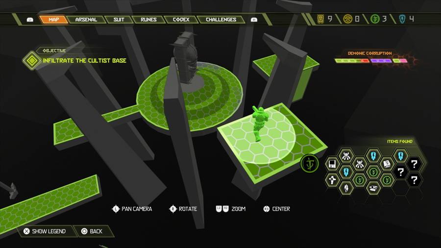 Level 3 Praetor Suit Point 3