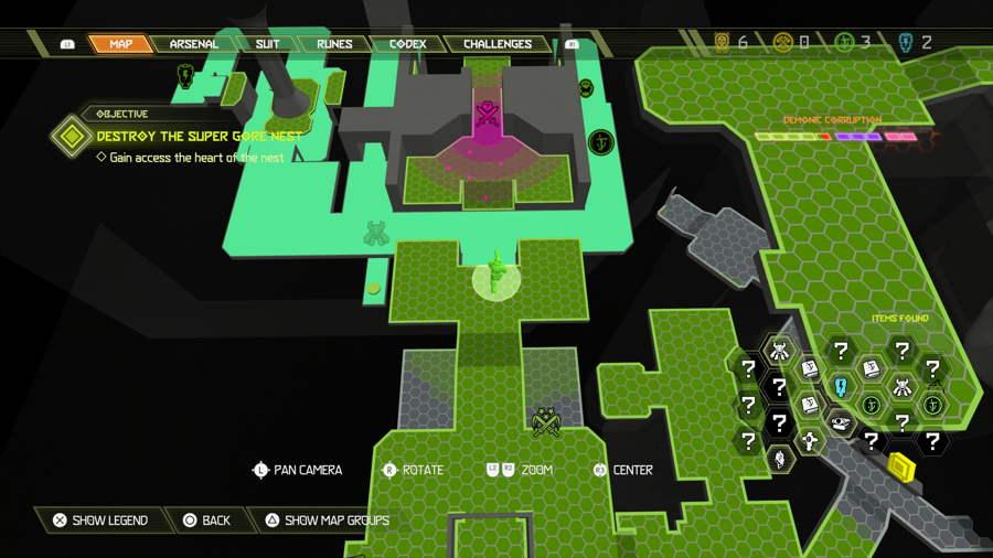 Level 4 Doom Hunter Base Praetor Suit Points 2