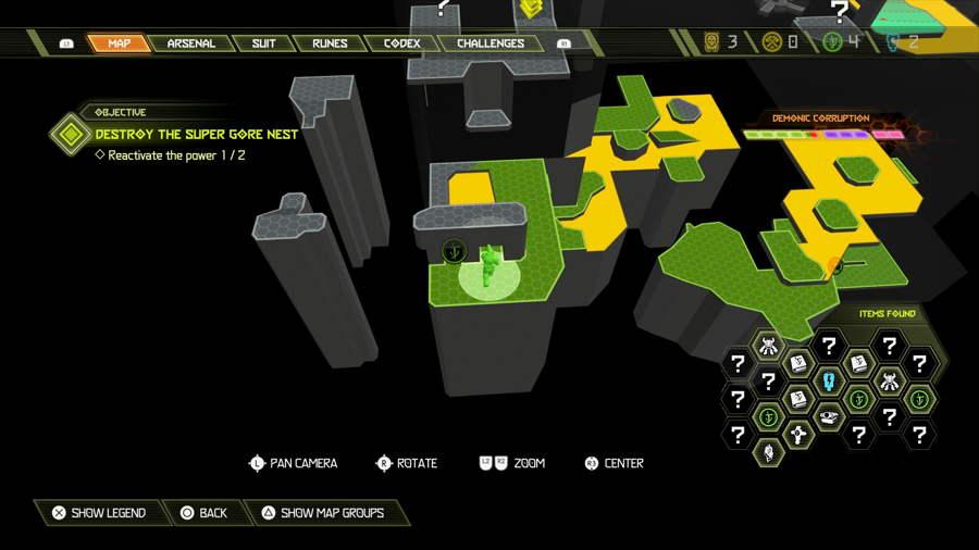 Level 5 Doom Hunter Base Praetor Suit Points 3