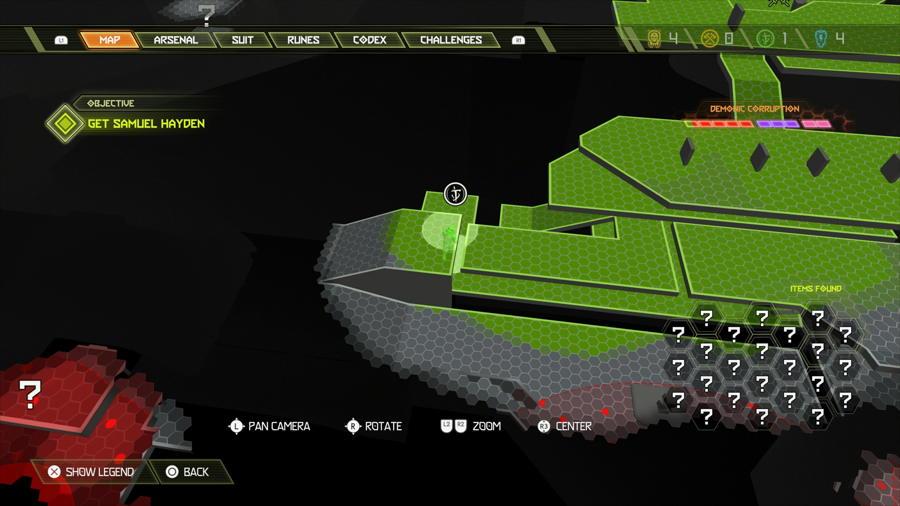 Level 6 Arc Complex Praetor Suit Points 1 1