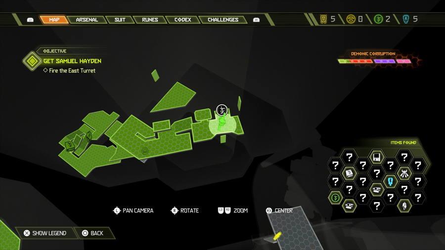 Level 6 Arc Complex Praetor Suit Points 2