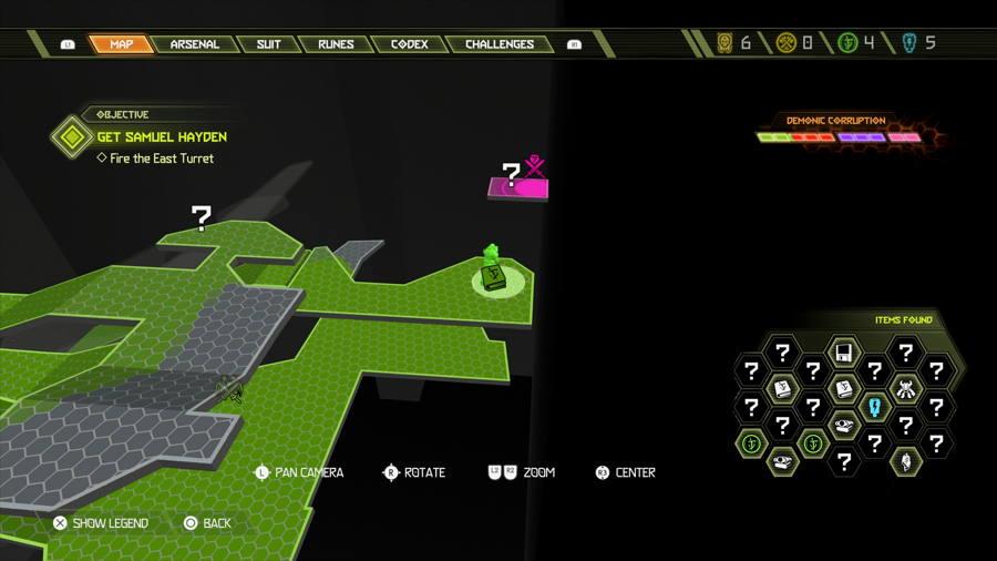 Level 6 Arc Complex Praetor Suit Points 3