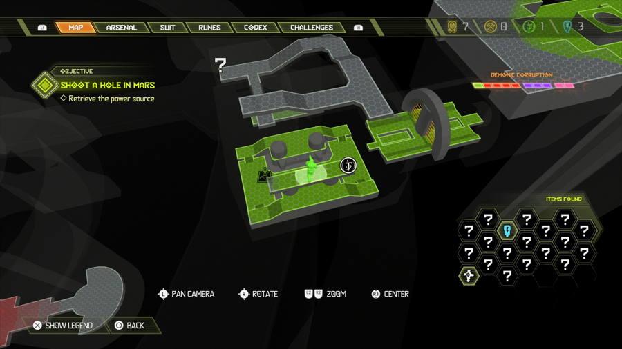 Level 7 Mars Core Praetor Suit Points 1