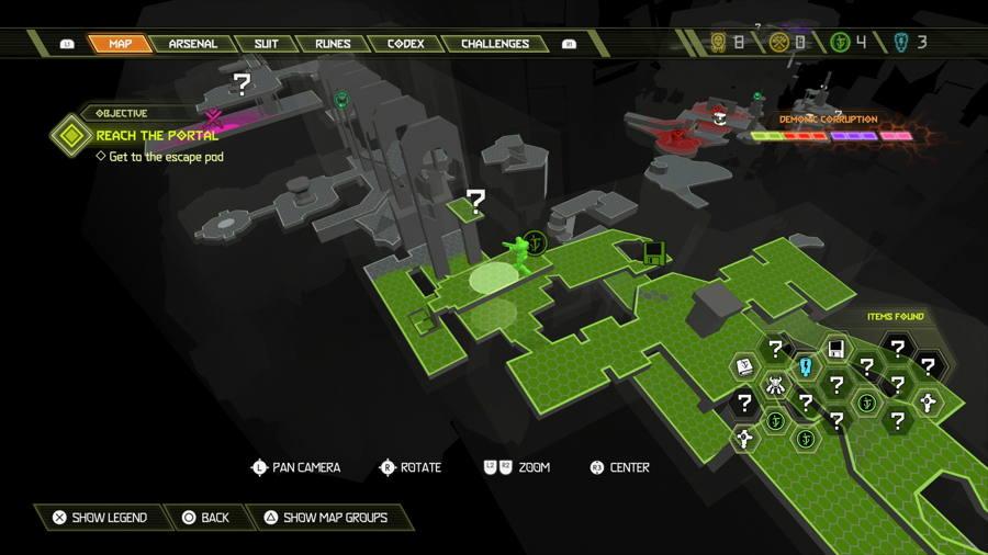 Level 7 Mars Core Praetor Suit Points 3