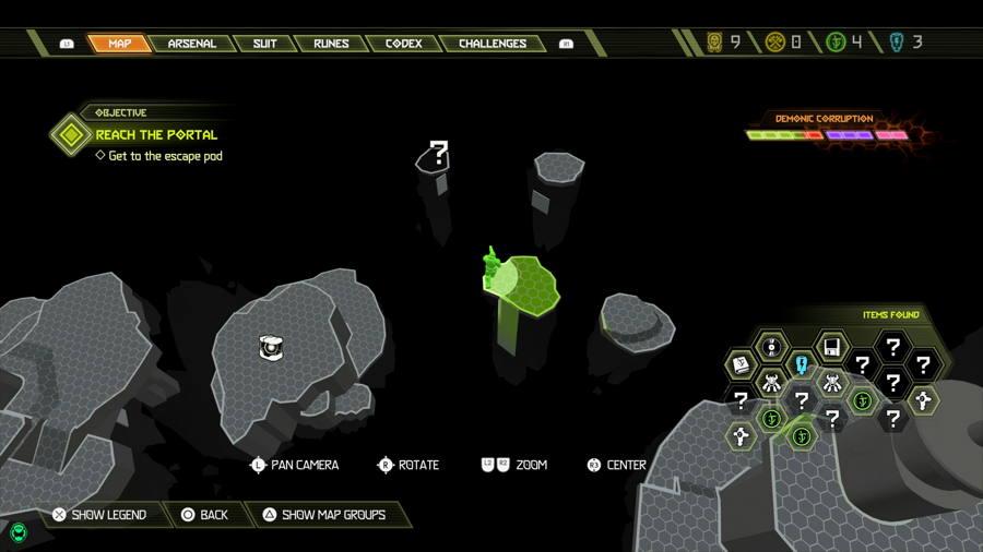 Level 7 Mars Core Praetor Suit Points 4 1