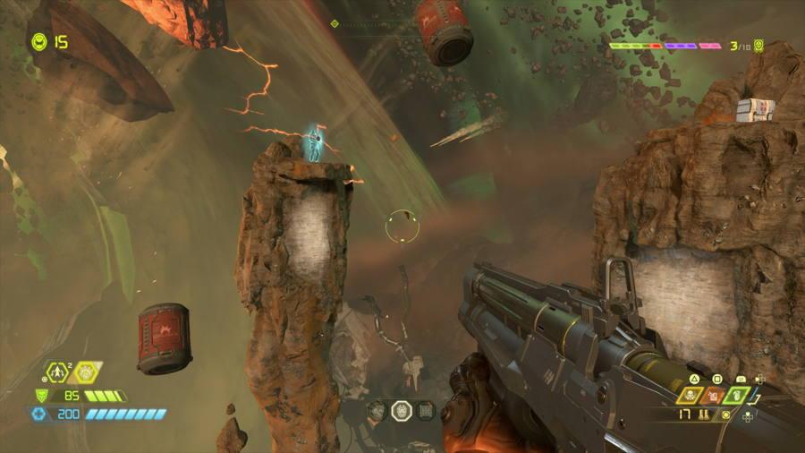 Level 7 Mars Core Praetor Suit Points 4