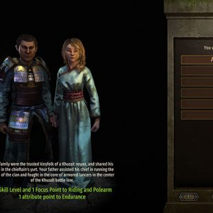 Mount & Blade II Bannerlord Character Creation Guide