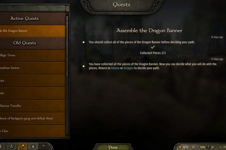 Mount & Blade II Bannerlord Give The Banner To Istiana Or Arzagos