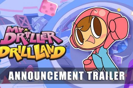 Mr. Driller DrillLand Announced for Nintendo Switch and PC