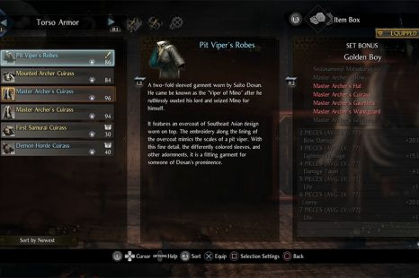Nioh 2 Armor Set Bonuses Guide