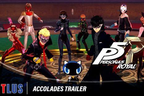 Persona 5 Royal Gets Accolades Trailer