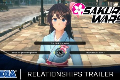 Sakura Wars Gets Relationships Trailer