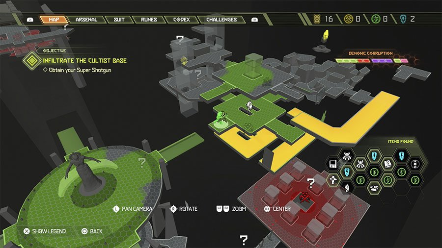Sentinel Crystal Location #3