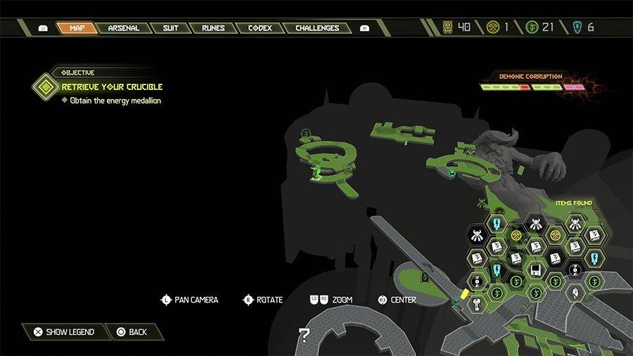 Sentinel Crystal Location #10