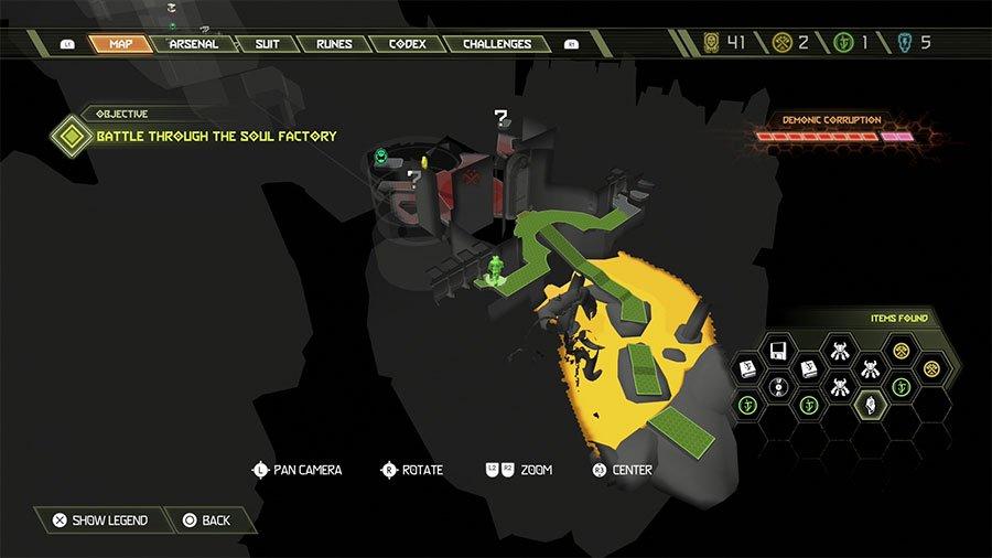 Sentinel Crystal Location #12
